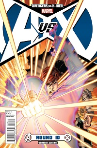 prv13232_pg6 AVENGERS VS. X-MEN #10 available in stores today