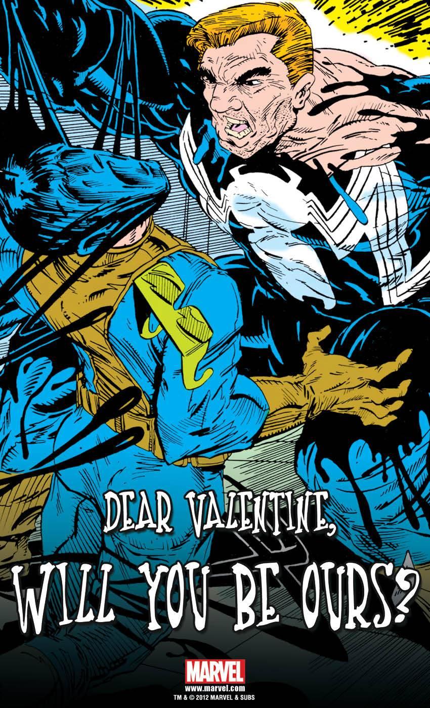venomvalentine1 ComicList: Marvel Comics for 02/01/2012