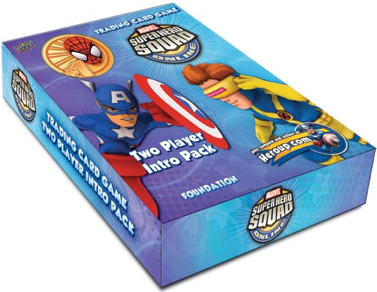 13478 Marvel Super Hero Squad Trading Card Game launches today