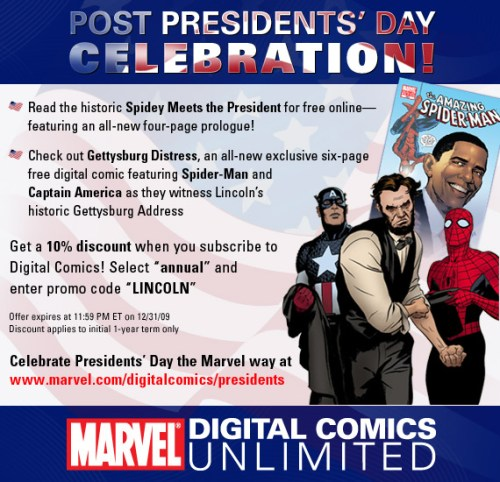 18c4d27e-8 Spidey Meets The President: Read Now!