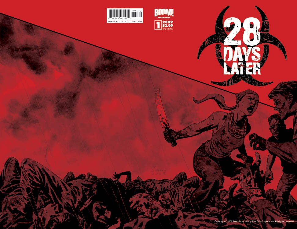 28DAYSLATER_001_2ndPrint 28 Days Later #1 Sells Out, Gets 2nd Printing
