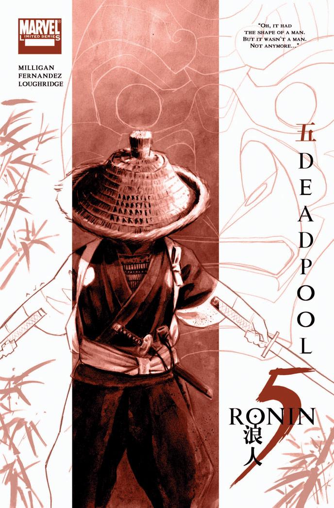 5-RONIN_Dpool_Cov Marvel Reveals David Aja's 5 RONIN Covers