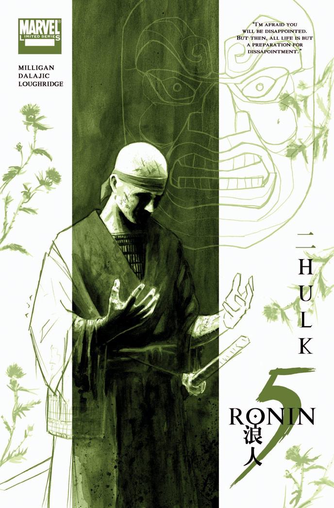 5-RONIN_Hulk_Cov Marvel Reveals David Aja's 5 RONIN Covers