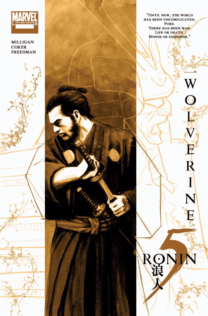 5-RONIN_Logan_cov Marvel Reveals David Aja's 5 RONIN Covers