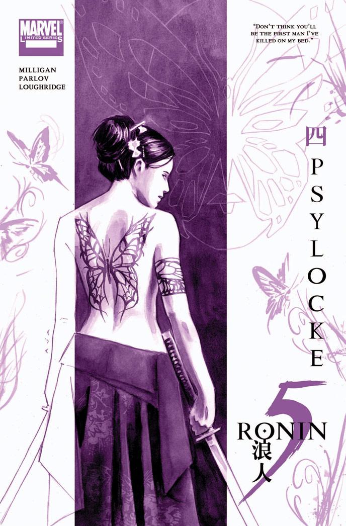 5-RONIN_Psylo_ Marvel Reveals David Aja's 5 RONIN Covers
