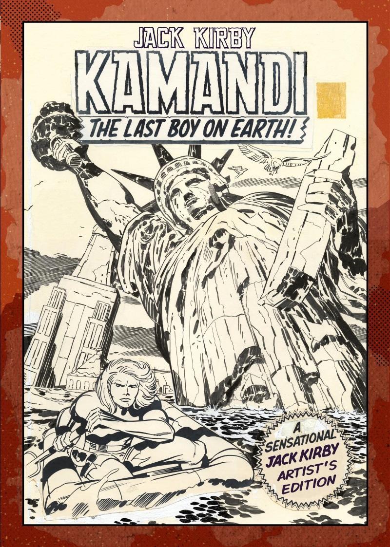 680d365b-ebd6-42ae-a3ab-b021bc469f5c The Jack Kirby Artist's Edition library adds KAMANDI