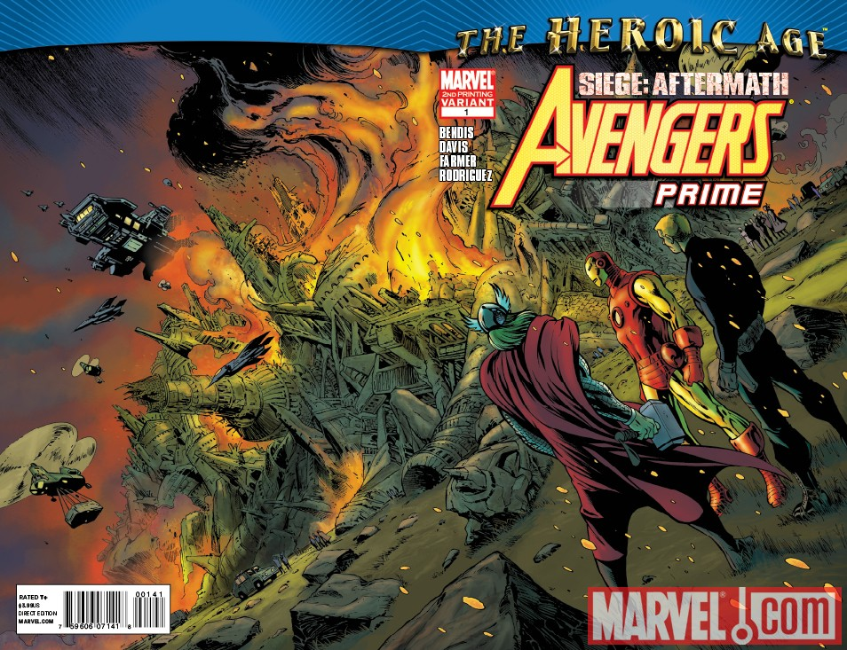 ANVP_1_2nd First Look At AVENGERS PRIME #2