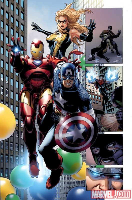 AVNCC_1_Preview4 First Look At AVENGERS: CHILDREN'S CRUSADE #1