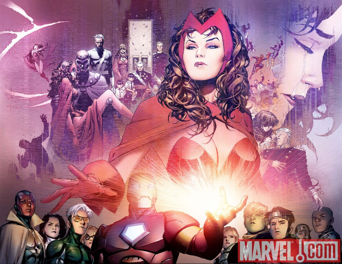 AVNCC_1_Preview8 First Look At AVENGERS: CHILDREN'S CRUSADE #1