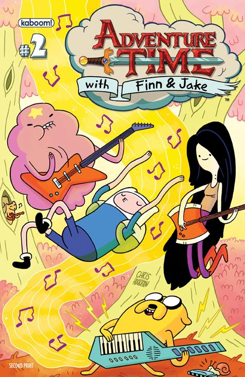 AdventureTime_02_2ndPrint.1 ComicList: BOOM! Studios for 04/04/2012