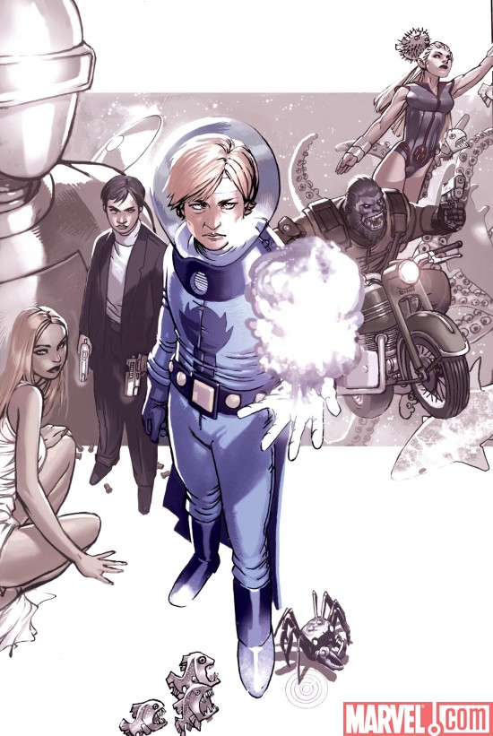AgentsOfAtlas_02_SecondPrinting_NewBachaloCover Agents of Atlas #2 Sells Out And Returns With a 2nd Printing