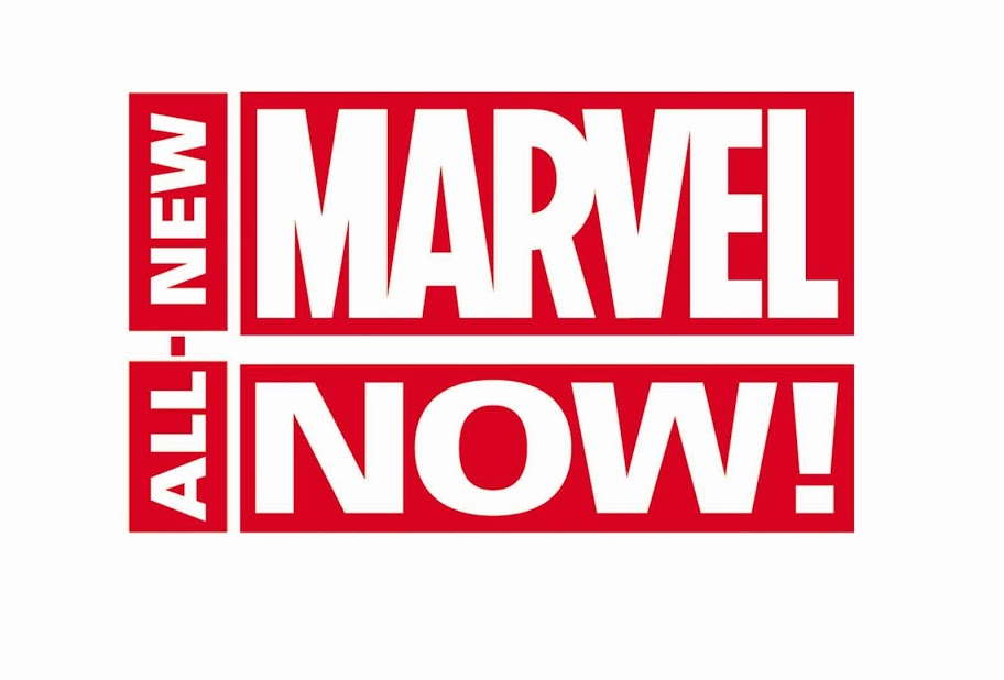 AllNewMarvelNow_logo All-New Marvel NOW! brings all new comics and creators