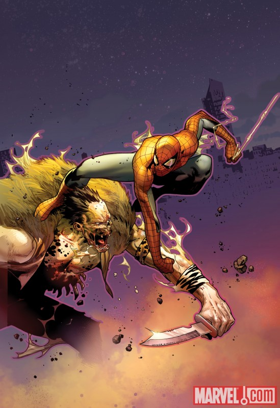 AmazingSpider-Man_637_Cover Olivier Coipel's AMAZING SPIDER-MAN cover is unveiled