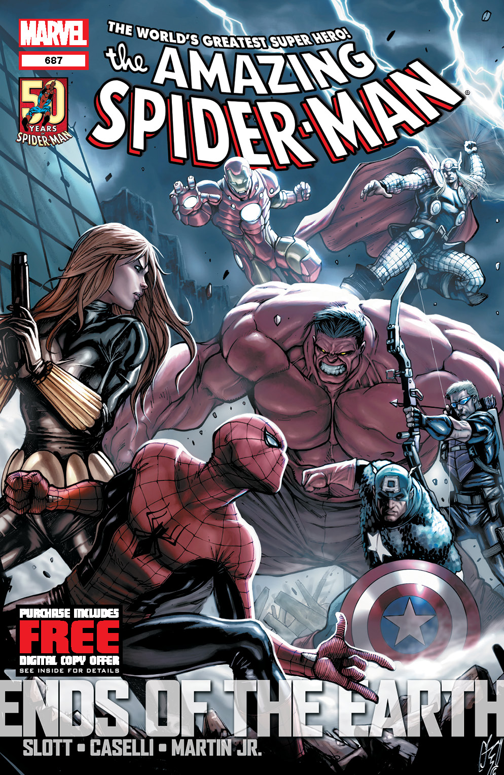 AmazingSpiderMan_687_Cover Marvel to include digital download codes in all $3.99 comics