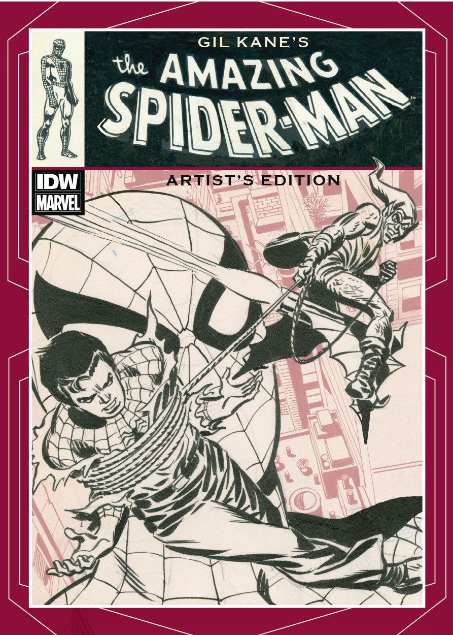 ArtistEdition_GilKane_Image IDW presents stories from Gil Kane's historic Spider-Man run