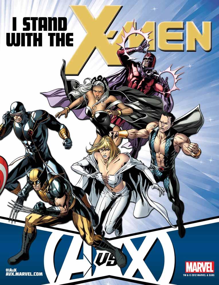 AvX_TeamPoster_X-Men ComicList: Marvel Comics for 04/04/2012