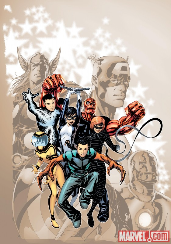 AvengersAcademy_01_Cover First Look At AVENGERS ACADEMY #1