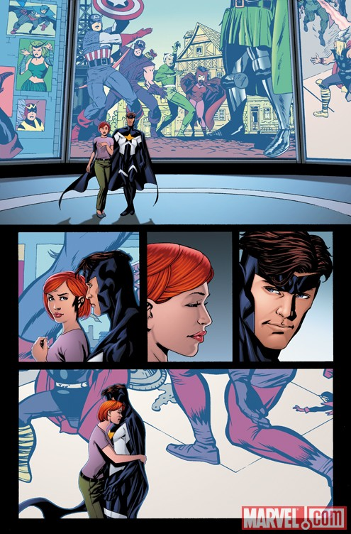AvengersAcademy_01_preview2 First Look At AVENGERS ACADEMY #1