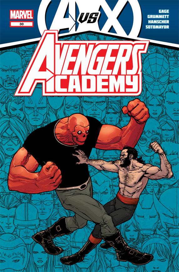 AvengersAcademy_30_Cover Marvel releases more May AVENGERS VS. X-MEN covers