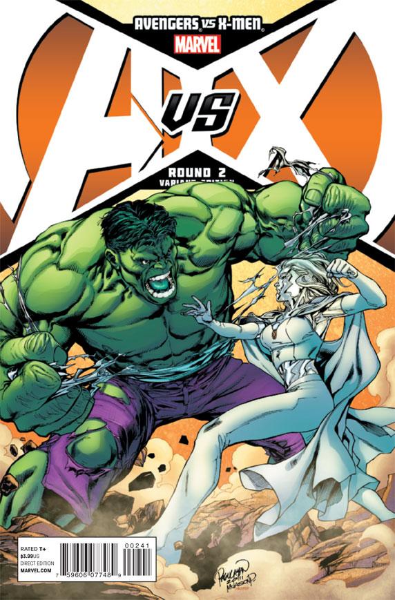 AvengersVSXMen_2_CoverPagulayanVariant The battle for hope begins today in AVENGERS VS X-MEN #2