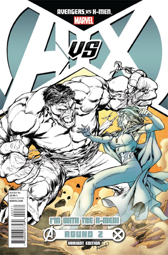 AvengersVSXMen_2_CoverXMenVariant The battle for hope begins today in AVENGERS VS X-MEN #2
