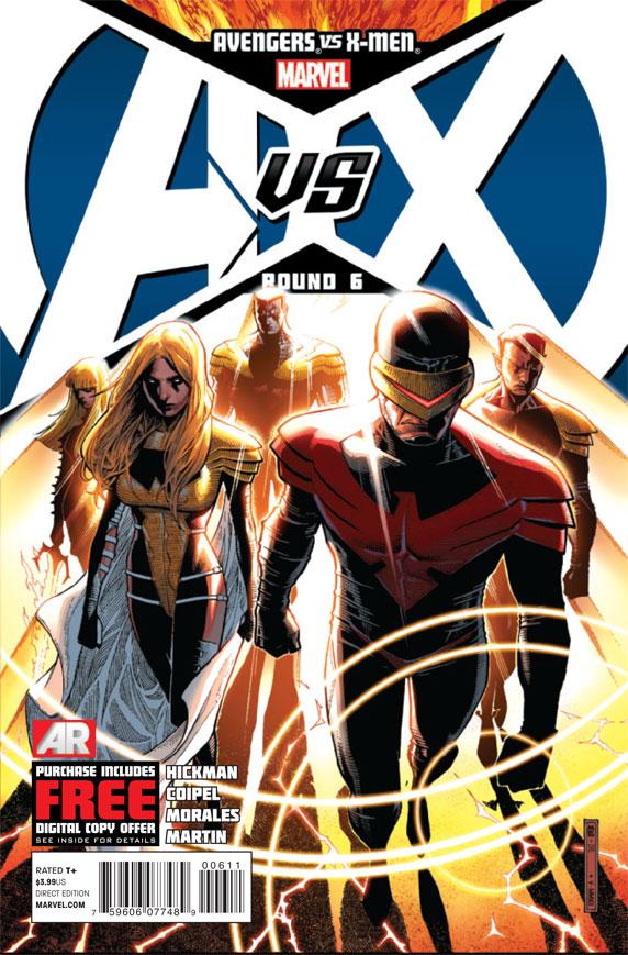 AvengersVSXMen_6_Cover The Phoenix Force initiates Pax Utopia in AVENGERS VS X-MEN #6