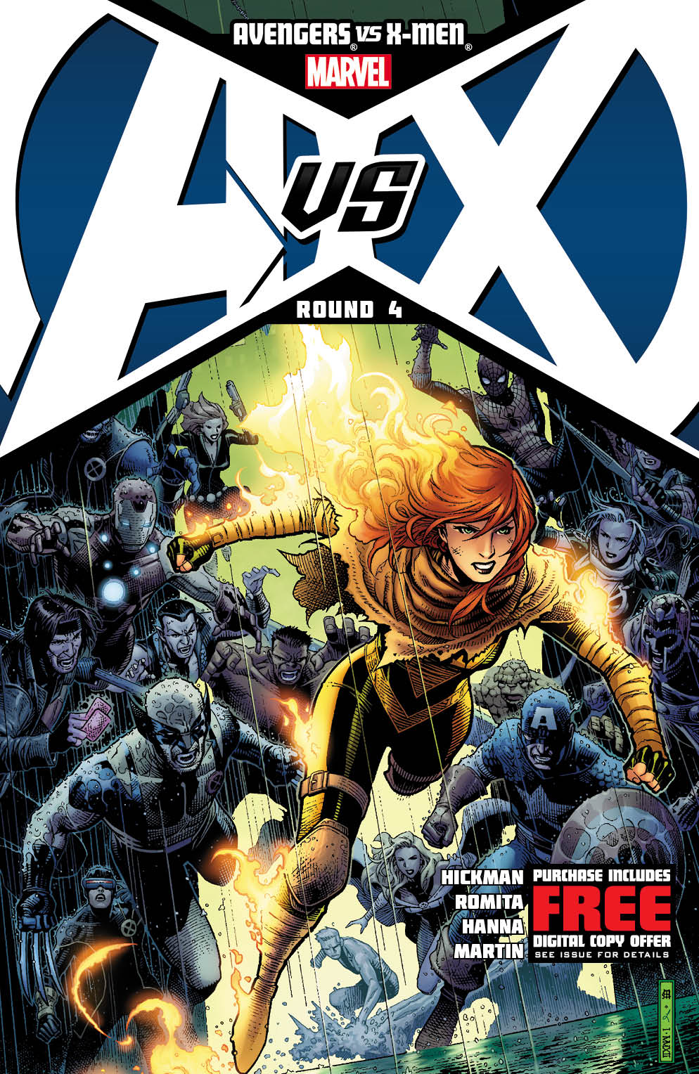 AvengersVsXMen_4_Cover Marvel unleashes New AVENGERS VS. X-MEN Covers