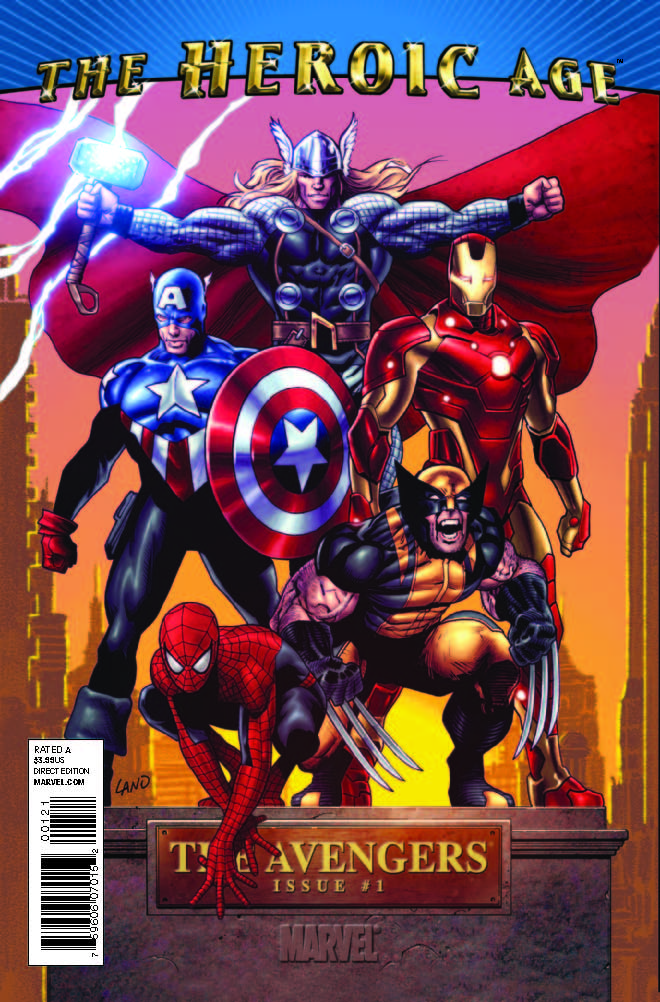 Avengers_01_HAVariant Celebrate the inaugural AVENGERS DAY at your local retailer