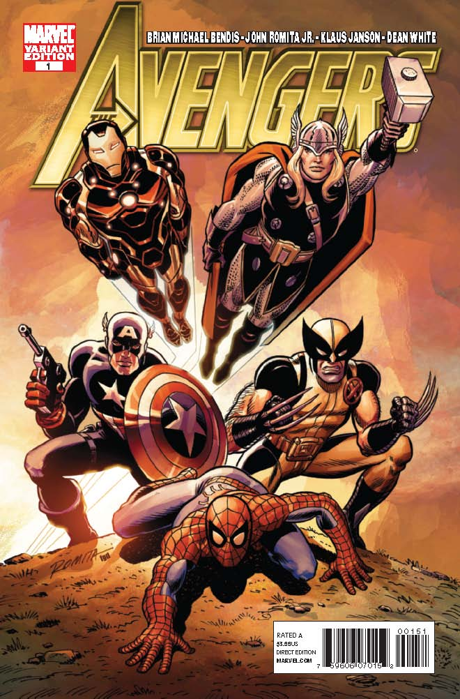 Avengers_01_JRSRvariant Celebrate the inaugural AVENGERS DAY at your local retailer