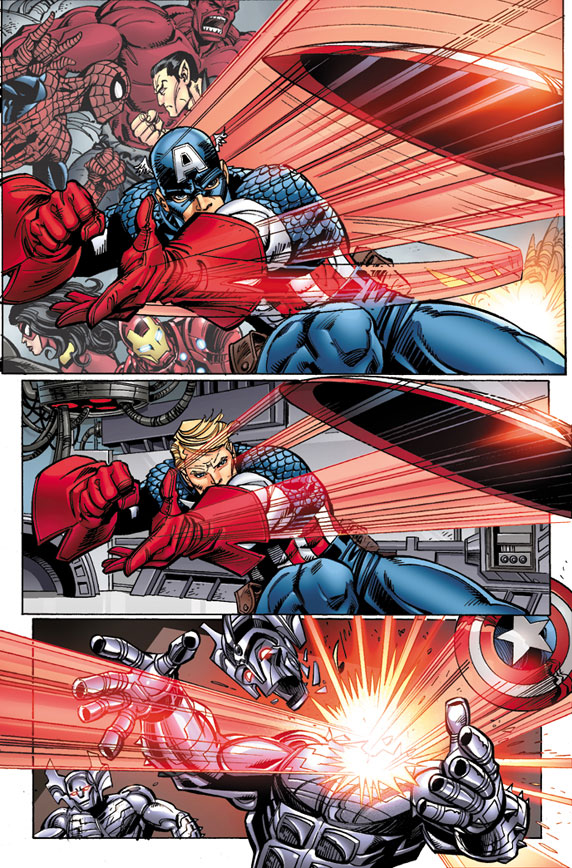 Avengers_25_Preview1 First Look at AVENGERS #25