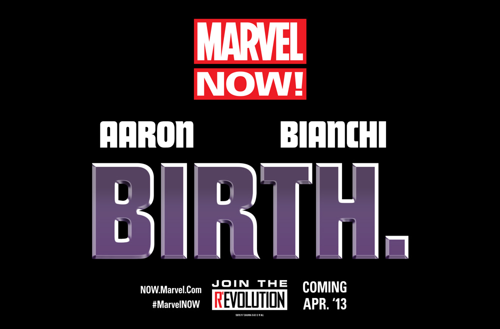 BIRTH_TEASER The Future of Marvel NOW! is BIRTH