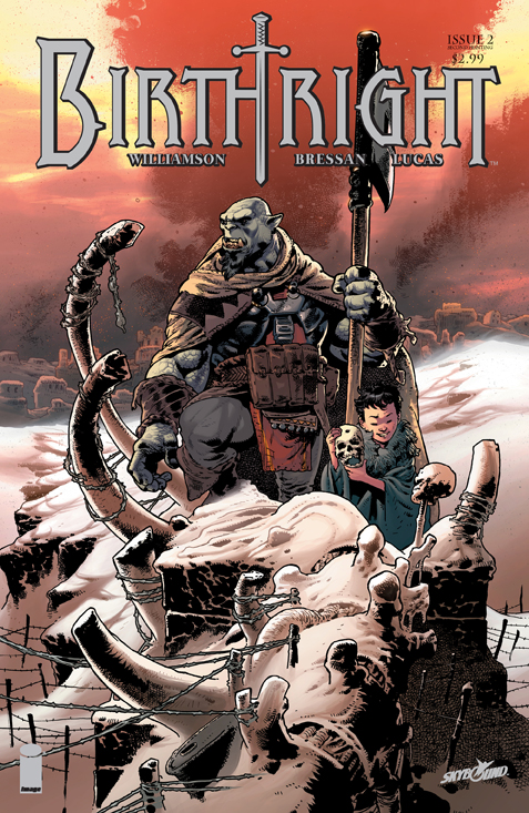 Birthright02_Cover2ndPTG Skybound's epic BIRTHRIGHT #2 goes to a second printing