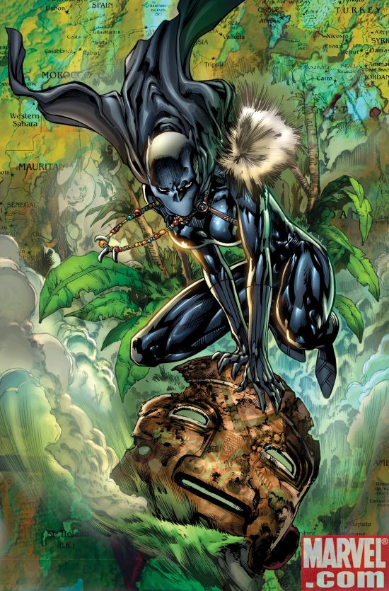 BlackPanther_01_SecondPrintingVariant DARK REIGN Leads To Black Panther #1 Sellout And 2nd Printing
