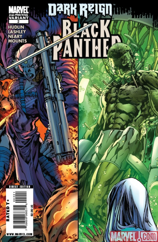 BlackPanther_02_SecondPrinting Black Panther #2 Returns With A New Printing