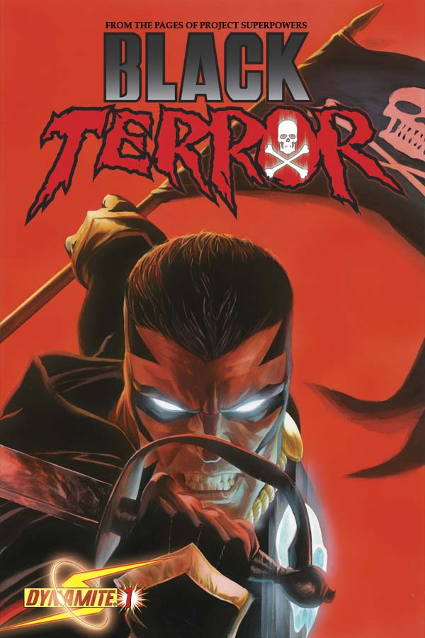 BlackTerror01CovRoss George Tuska And John Romita Sr. Cover The Black Terror