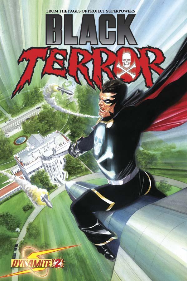 BlackTerror02CovRoss George Tuska And John Romita Sr. Cover The Black Terror