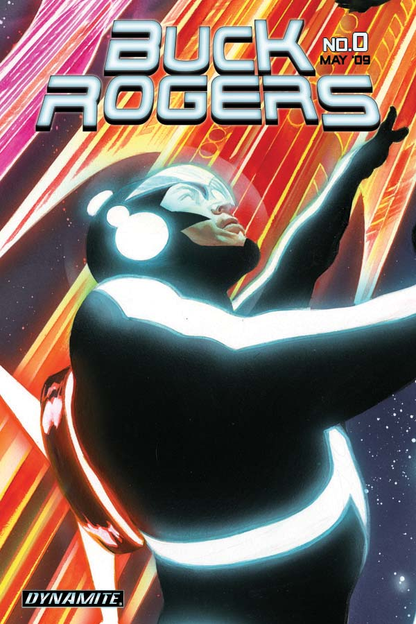 BuckRogers00covRossSneakPee Dynamite's Buck Rogers #0:  The Future Begins May 2nd