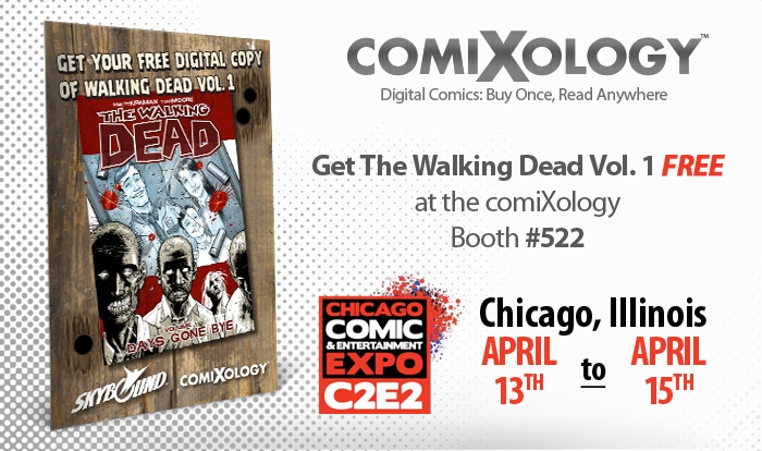 C2E2-press-image1 ComiXology and Skybound give away WALKING DEAD at C2E2 2012