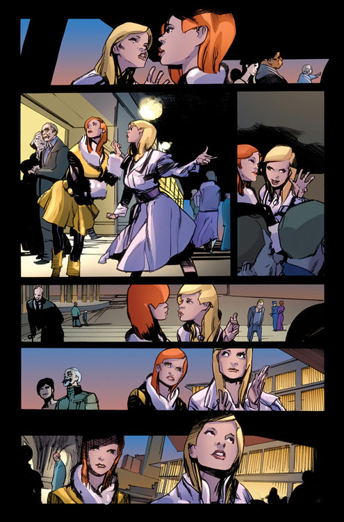 CAPTAINAMERICA_THESECRETAVENGERS_1_Preview3 First Look at CAPTAIN AMERICA AND THE SECRET AVENGERS #1