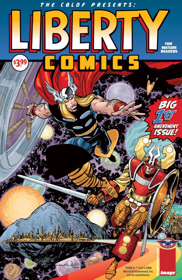 CBLDF_Liberty_Thor LIBERTY COMICS Anthology Raises Nearly $27,000 For CBLDF