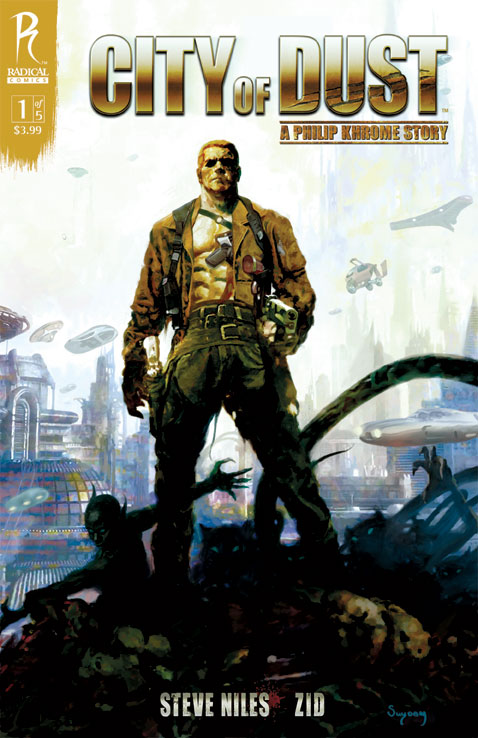 COD1_Arthur-Suydam_CoverD City Of Dust #1 To Feature Five Covers
