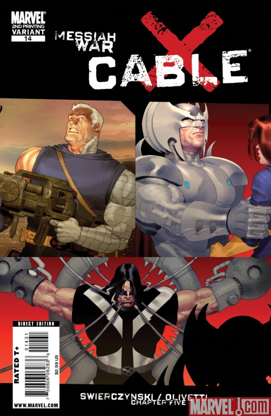 Cable_14_SecondPrintingVariant Cable #14 Sells Out and Returns With a Second Printing