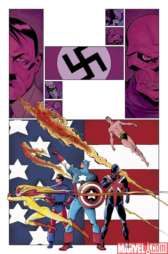 CaptainAmerica_50_Preview5 Preview Captain America's Landmark Issue #50