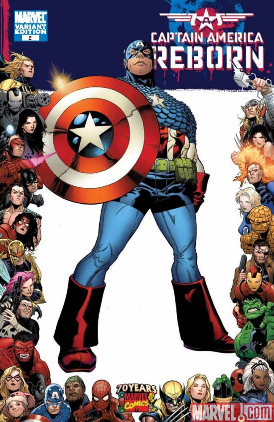 CaptainAmerica_Reborn_02_FrameVariant Celebrate Marvel's 70th Anniversary With Your Local Comic Shop