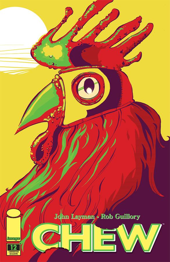 Chew12_SDCC_Var Image Comics announces Comic-Con variant cover for CHEW #12