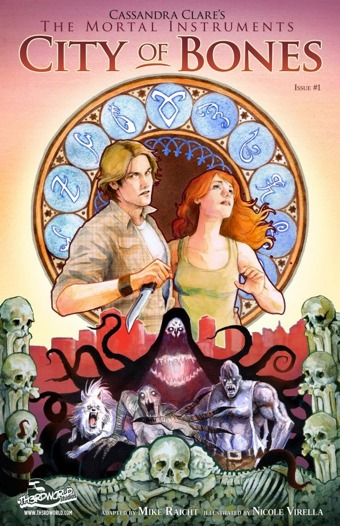 City_of_Bones_1 CITY OF BONES adaptation available monthly as digital exclusives
