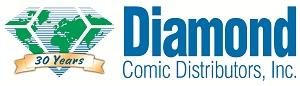 DCD30thwithbanner Diamond Comic Distributors celebrates 30 years of service