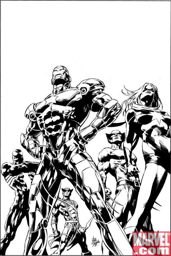 DarkAvengers_01_SecondPrintingVariant_NotFinal DARK REIGN Leads to Dark Avengers #1 Second Printing Variant