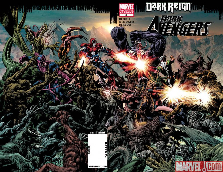 DarkAvengers_03_SecondPrinting Dark Avengers #3 Sells Out And Returns with 2nd Printing