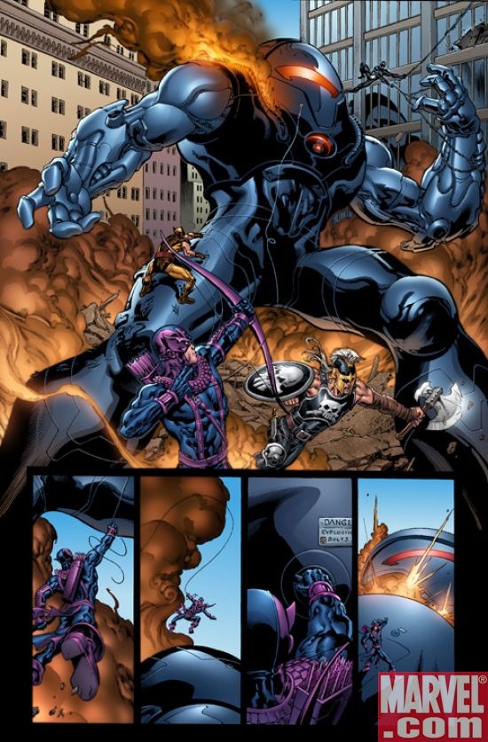 DarkReign_Hawkeye_01_Preview4 Dark Reign Hawkeye #1 Preview